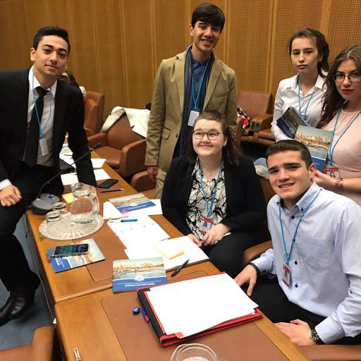 Representanter fra Israel, Guatemala, Norge, Portugal og Russland