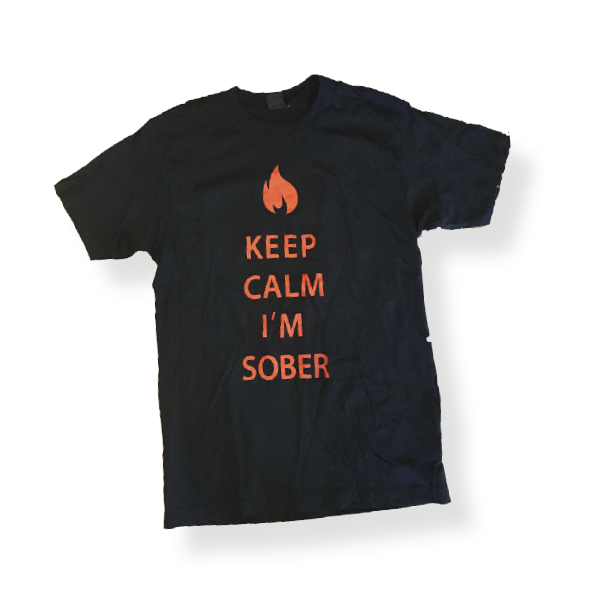 Keep Calm I'm Sober